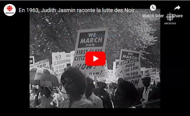 1963 – Judith Jasmin vertelt over de strijd van zwarte Amerikanen tegen rassenscheiding