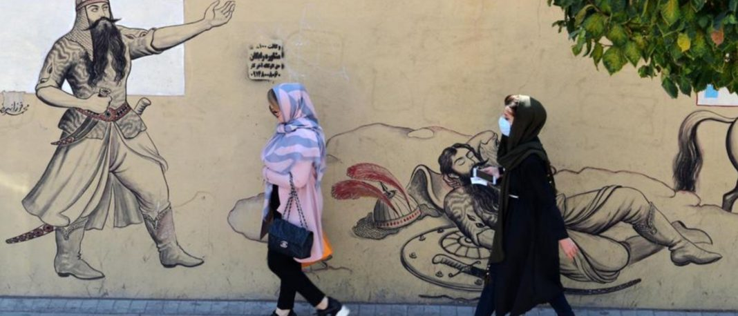 Iran murals