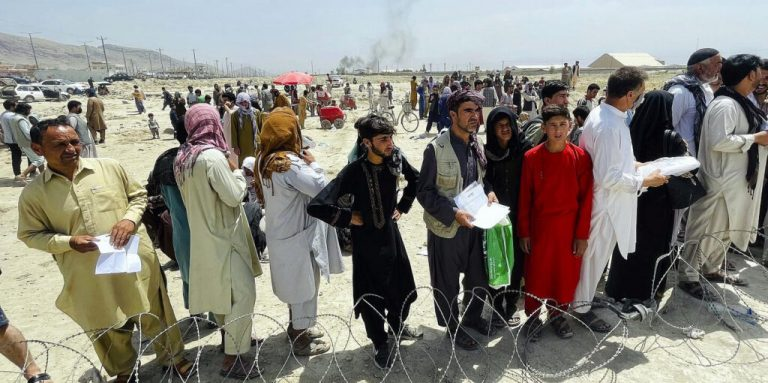 Waar trekken de Afghaanse vluchtelingen naartoe?